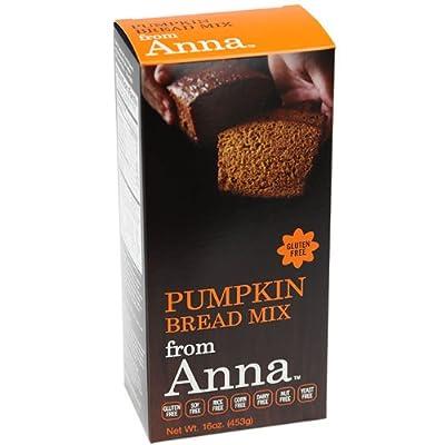 Breads from Anna Gluten & Allergen-Free Baking Mixes Pumpkin Bread Mix 16 oz. (a)