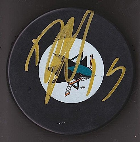 Autographed Dany Heatley Hockey Puck - w COA #3 - Autographed NHL Pucks