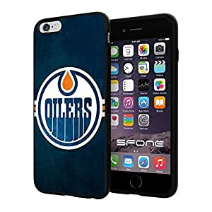 Edmonton Oilers NHL, #1449 iphone 4s) I+ Case Protection Scratch Proof Soft Case Cover Protector