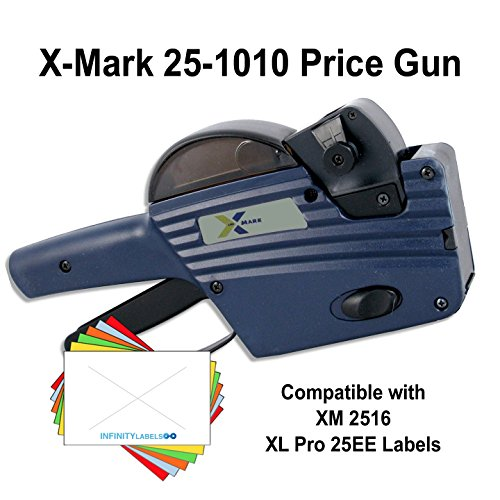 X-Mark Price Gun: TXM 25-1010 [2 Line / 10/10 Characters] by Infinity Labels (Image #1)