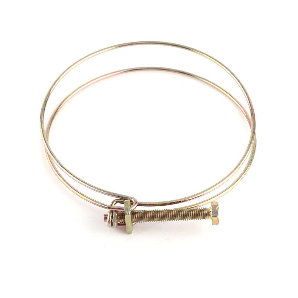 71/mm-76/mm 10pcs fil double Colliers /à Clip fil double r/églable fil Barb pour eau Clamp tuyau clip hoop Plumbing Relieur darchives