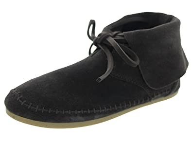 5d880f164e4 TOMS Zahara Booties Chocolate Brown Suede 10006206 Womens 5.5