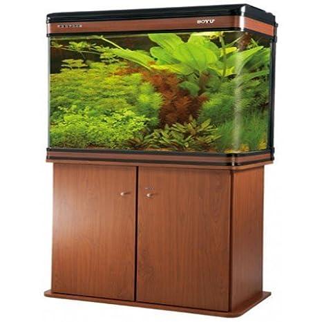 lz-1200 abedul moderno armario Acuario Fish Tank/marina Tropical/agua dulce - 120 cm - 300L con iluminación LED: Amazon.es: Productos para mascotas