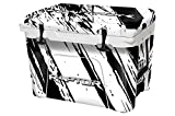 USA Tuff Thickest & Toughest Wrap 24Mil Cooler Decal Skin for YETI 45QT Tundra Full Kit - Ford White Raptor