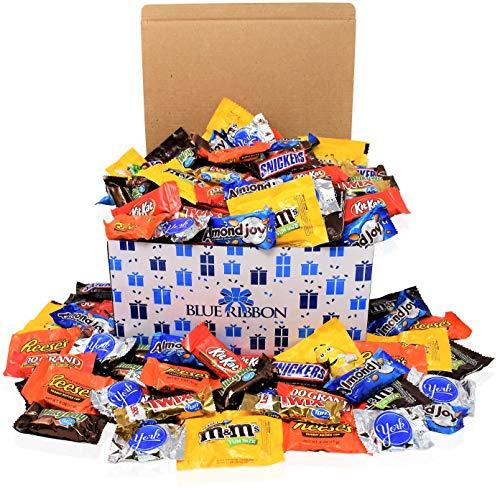 (Chocolate Assortment Mix -150 Count - M&M, Hershey's, Snickers, Reese's, Almond Joy, York, Twix, Nestle (90)