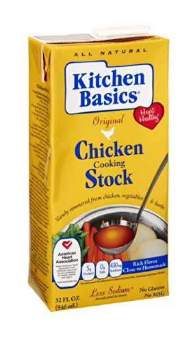 Price comparison product image Kitchen Basics Real Chicken Stock, 32 Ounce (Pack of 12)