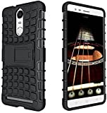 Lenovo Vibe K5 Note Defender Stylish Armour Protector Shockproof + TPU 360° Protection with Hybrid Kickstand Back Case Cover Easy To Carry By Shoppers Point