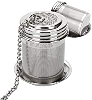 House Again 2 Pack Tea Ball Infuser & Cooking Infuser, Extra Fine Mesh Tea Infuser Threaded Connection 18/