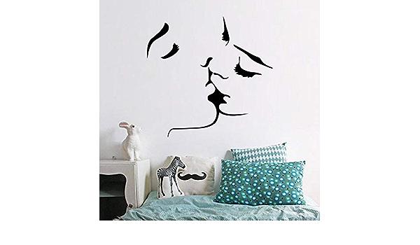 DMYLQ Etiqueta De La Paredamor Extraíble Pareja Wallpaper ...
