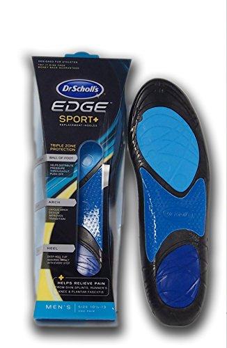 Dr Scholls Edge Sport + Performance Insoles for Men (Large 10.5-13)
