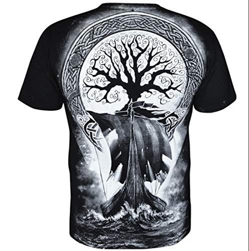 Hommes Aquila T Viking Warlord shirt Pour rHgrX