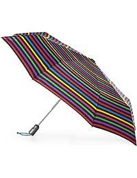 Titan Auto Open Close Umbrella with NeverWet, Hue Stripe