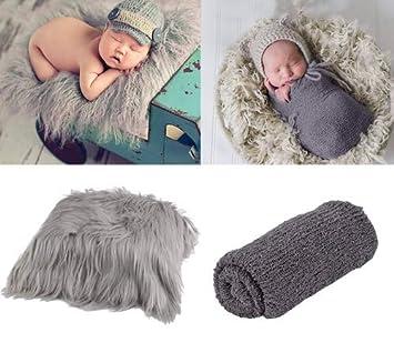 Amazon.com: Aniwon 2 piezas de accesorios para fotos de bebé ...