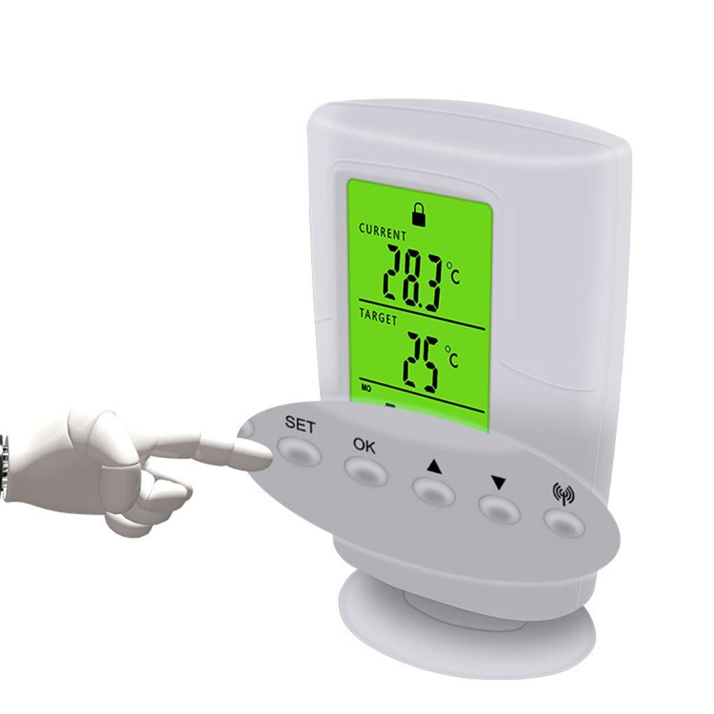 Topker LCD num/érique sans Fil Intelligent Thermostat programmable Prise de temp/érature Prise de Commande
