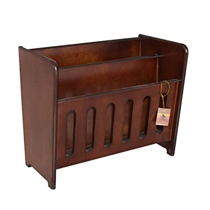 newspaper rack for office. Magazine Holders Rack Wood Newspaper Office Information Store Display Stand 40 * 18 For