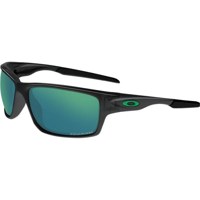 Gafas de sol Oakley Canteen 9225 - 04 black ink Jade Iridio polarizada: Amazon.es: Ropa y accesorios