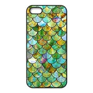 Custom Mermaid Scale Design Rubber TPU Case for Iphone 5 5S