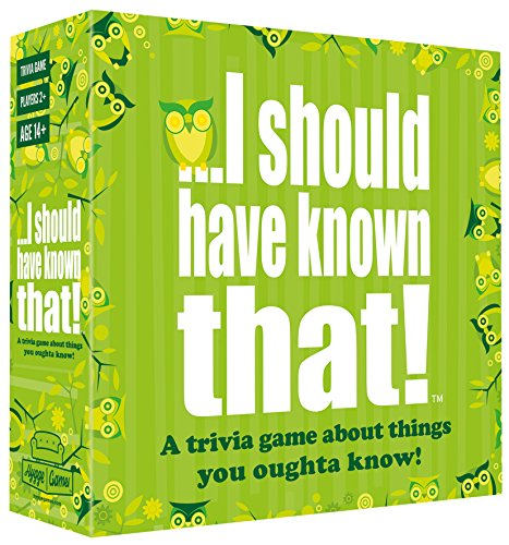 ...I Should Have Known That! Trivia Game (Best Board Games For Groups Of Adults)