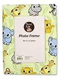 Trend Lab Fabric Covered Photo Frame, Chibi, Baby & Kids Zone