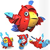 Dreamyth NS001 Variety Magnetic Wisdom Intelligence Ball Red Parrot,American Warehouse Shippment