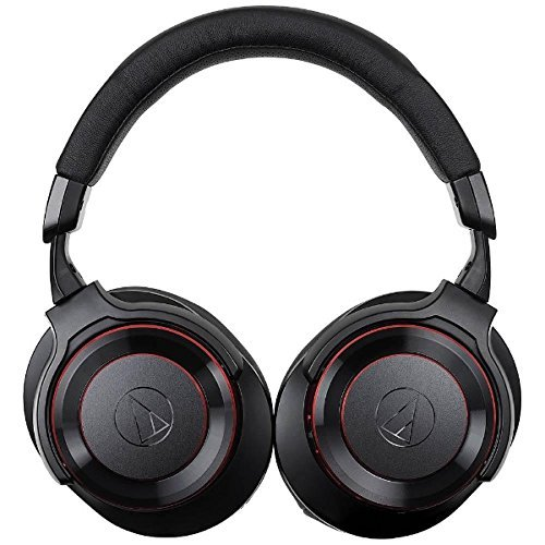 audio-Technica Wireless Headphone ''SOLID BASS'' ATH-WS990BT BRD (BLACK & RED)【Japan Domestic genuine products】