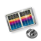 NEONBLOND Pin Retro Cites States Countries Bora Bora