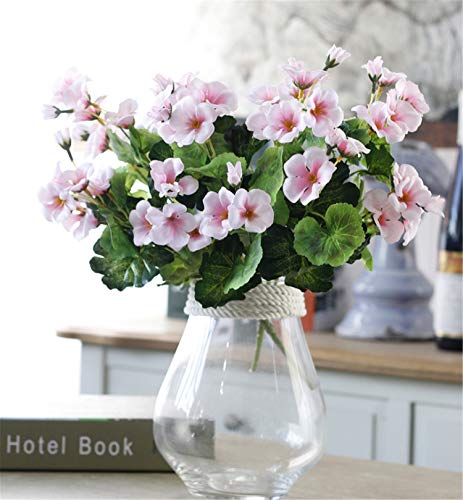 ial Chinese Flowering Crab-Apple Fake Begonia Malus spectabilis Flower for Wedding, Room, Home, Hotel, Party Decoration (Pink) (Malus Flowering)