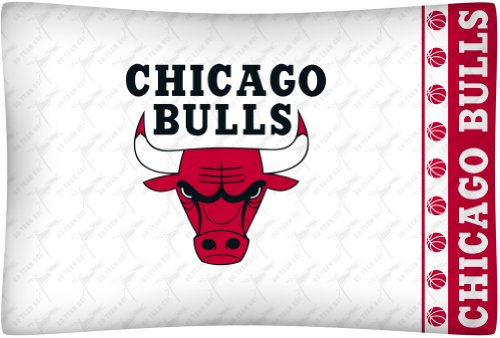 NBA Chicago Bulls Micro Fiber Pillow Case Logo Chicago Bulls Pillow