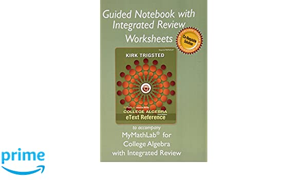 Guided Notebook with Integrated Review Worksheets for College ...