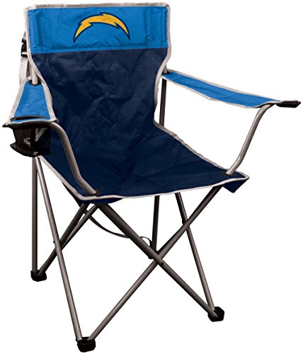 Tailgate Tailgating Chair Folding (NFL Portable Canvas Folding Kickoff Chair with Cup Holder and Carrying Case)