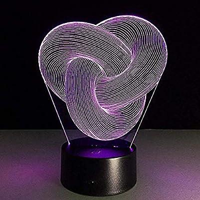 Luci Notturne 3D Sky Night Light Tunnel Lights Infinity