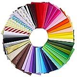 Winlyn 240 Sheets 48 Multicolor Tissue Paper Bulk
