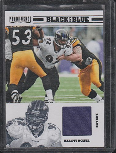 2012 Prominence Haloti Ngata Ravens 38/199 Game Used Jersey Football Card #9