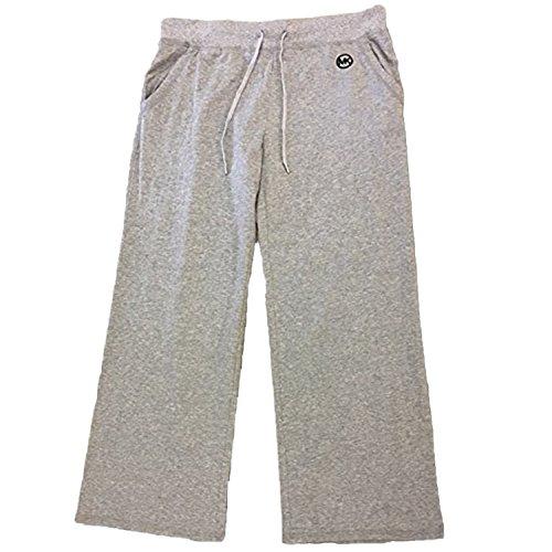 Cotton Sweatpants Blend (Michael Kors Women's Cotton Blend Sweatpants (Large))