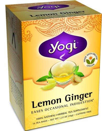 YOGI TEA,OG3,LEMON GINGER, 16 BAG by YOGI