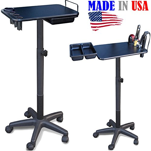 2700 FF Salon Spa Utility Chemical Coloring Cart Table Tray w/Tool Holders by Dina Meri
