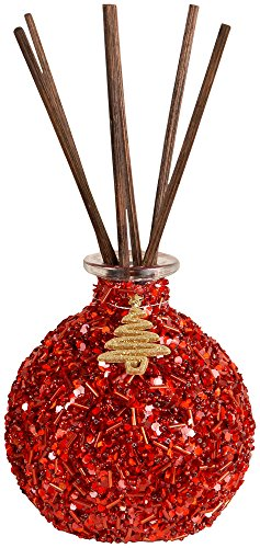 (San Miguel Red Glitter Reed Diffuser, Red, By Pomeroy)
