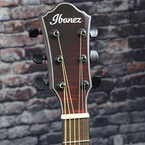 Ibanez AEWC32FM - Red Sunset Fade