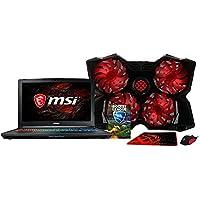 XOTIC MSI GP72X Leopard Pro w/ FREE BUNDLE! - 17.3 FHD 120Hz 5ms WideView Angle 94% NTSC Intel Core i7-7700HQ, Nvidia GTX 1050 Ti (4GB), 16GB 2400MHz Ram, 512GB SSD, 1TB 7200RPM HDD, Windows 10
