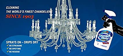 Amazon sparkle plenty chandelier crystal cleaner 32oz trigger sparkle plenty chandelier crystal cleaner 32oz trigger spray aloadofball Image collections