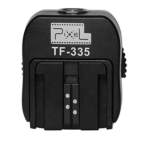Pixel TTL Hotshoe Adapter with Pc Port for Sony Cameras to Connect Sony Speedlite like A7 A7S A7SII A7R A7RII A7II NEX6 RX1 RX1R RX10 RX100II HX50 A6000 A6300 to - Nikon Ttl Converter