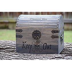 Kids Toy Chest - Kids Treasure Chest - Personalized Gift for Kids - Children's Treasure Chest - Gift for Kids - Pirate Treasure Chest