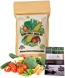 NatureZ Edge Garden Seeds Vegetable Variety Seed Pack, 11 Varieties of Heirloom Vegetable Gardening Seeds for Planting…