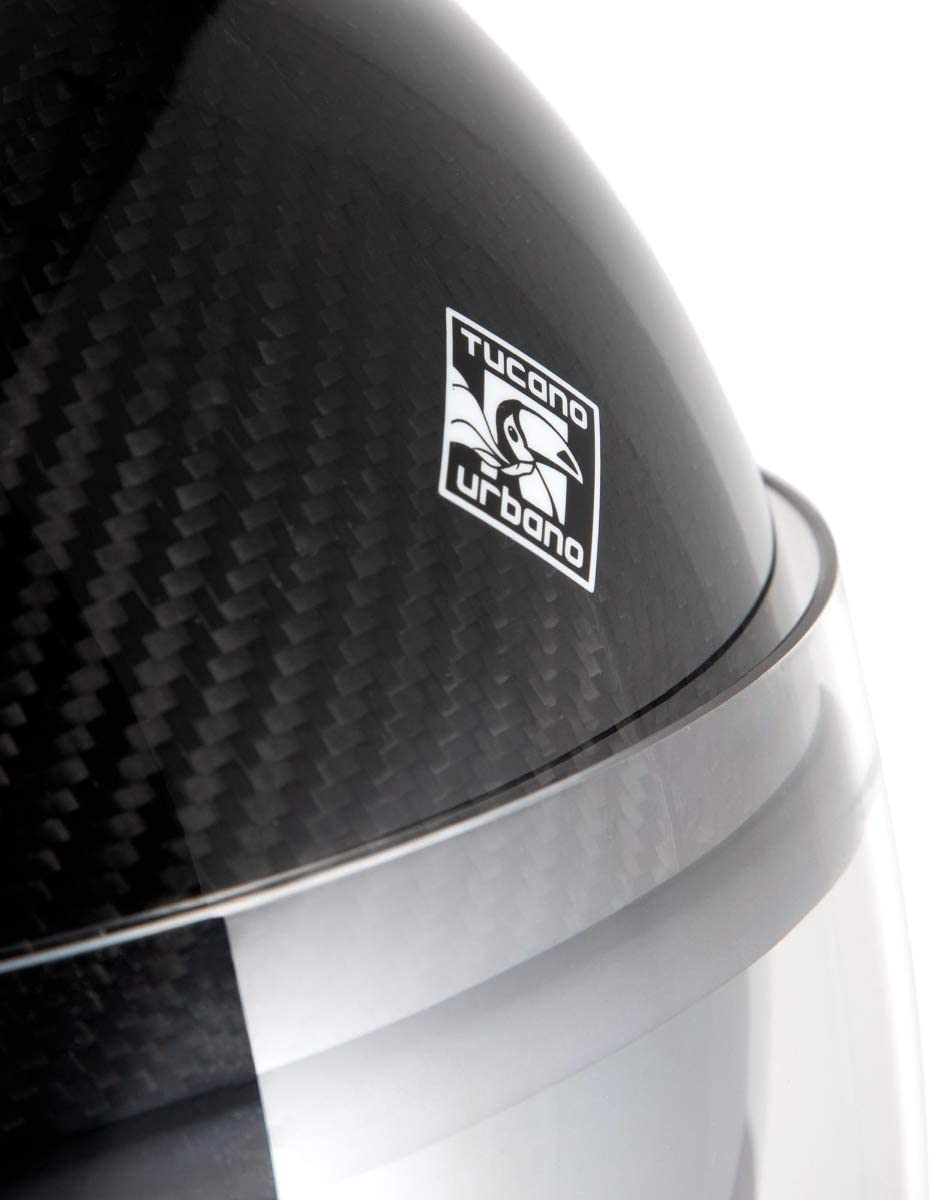 Tucano Urbano Carbon Special Edition Casque en fibre de carbone S Noir