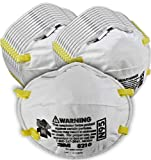 Tools & Home Improvement : 3M Particulate Respirator 8210, N95, Smoke, Dust, Grinding, Sanding, Sawing, Sweeping, 20/Pack
