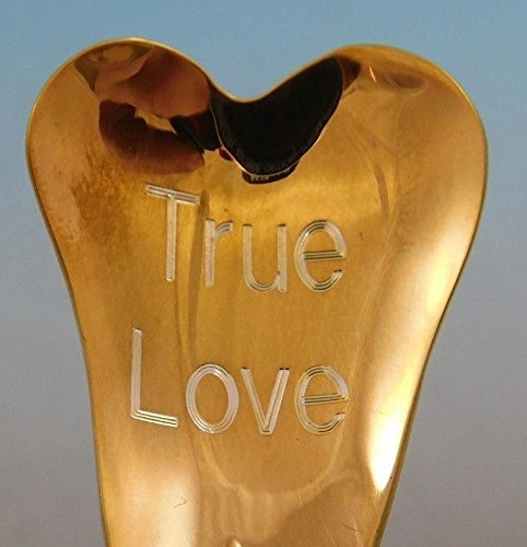 (Etruscan by Gorham Sterling Silver Conversation Heart Spoon Valentines Day Gift (True Love))