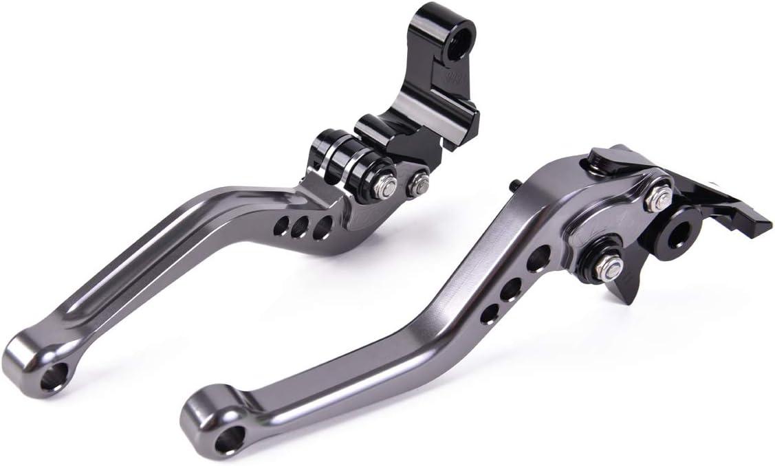 FXCNC Racing Billet Motorcycle Long Adjustable Brake Clutch Levers Set Pair fit for Honda VTR1000F//FIRESTORM 98-05,VFR800//F 02-18,VFR750 91-97,CBF1000 06-09,VF750S SABRE 82-86