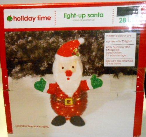 Light Up Outdoor Santa in Florida - 1