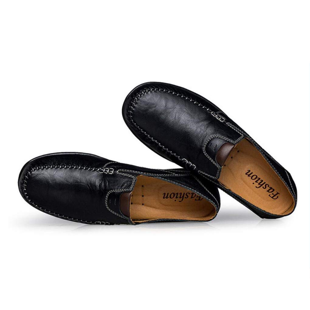 Wedding//Party /& Even Comfort Loafers /& Slip-ONS Walking Shoes,Lazy Shoes Mens Fall Fashion Leather Casual Shoes,Driving Shoes