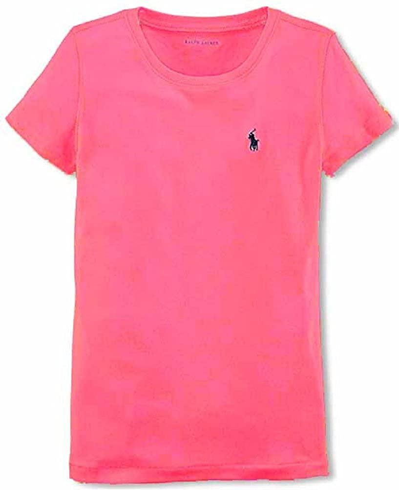 RALPH LAUREN Polo Little Girls Crewneck T-Shirt